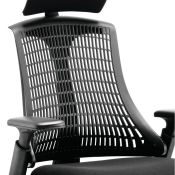 Symple Stuff, Headrest (BLACK)(FOR CHAIR) - RRP £52.99 (HEME2829 - 19574/31) 1A