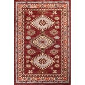 Three Posts,Maytown Red Rug (80x150cm) - RRP £71.99 (QWG10069 -18321/14)