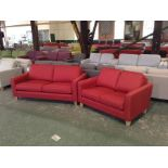PORTIA Bevan Red 2.5 str and 2 SEATER ( SFL902 -SF