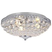 Rosdorf Park, Elijah 3 Light Flush Mount - RRP £48