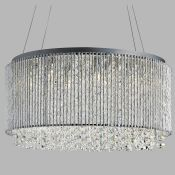 Willa Arlo Interiors, 8-Light Crystal Chandelier -