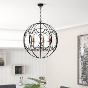 Mercury Row, Mcgowan 5-Light Globe Pendant - RRP £