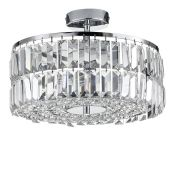 Willa Arlo Interiors, 4-Light Flush Mount - RRP £1