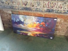 Caracella,'Radiant Energy' Painting Print RRP £18.99(10043/48 CACA3173)