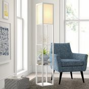 Zipcode Design, Lena 160cm Column Floor Lamp (OAK) - RRP £75.99 (MSUN1811 - 20315/29) 2D