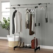 Wayfair Basics™, 92-150cm Wide Clothes Storage System - RRP £39.99 (QBFF2782 - 20321/35) 3B