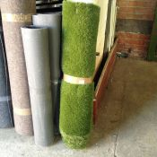 SMALL ROLL OF ASTRO TURF