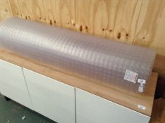 ROLLED UP PLASTIC FLOOR PROTECTER(H17228 - 12/14 HGKS1111.43136874)