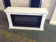 Suncrest,Bradbury Electric Fire Suite RRP £599.99(20477/2 SCRU1034)