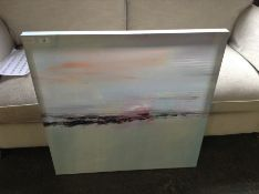 East Urban Home,'Inverse' by Lindsay Megahed Oil Painting Print on Wrapped Canvas RRP -£142.99(