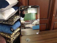 Belfry Bathroom,Samatha Rectangular Mirror RRP £59