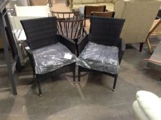 Sol 72 Outdoor,Garden Chair with Cushion (Set of 2) - £349.99 ( -20423/2 )
