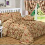Noveltex, Anastasia Bedspread Set with 2 pillows (DOUBLE) - RRP £68.99 (NOVX1149 - 13770/4) 1J