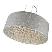 Milo Lighting, Essence 7-Light Crystal Chandelier - RRP £296.99 (MLOL1024 - 16136/48) 7D