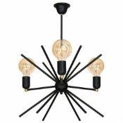 Mercury Row, Klingbeil 3-Light Sputnik Chandelier - RRP £127.99 (ALAS8270 - 16136/62) 7D