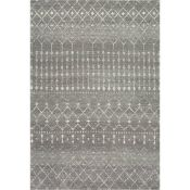 Mistana Clair Dark Grey Rug (91x152cm)(MISN1002 - 16851/35)