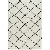 Mint Rugs,Allure Cream Rug - RRP £47.99 (80x150cm) (MIRU1118 -16899/32)
