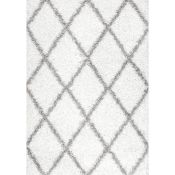 Wrought Studio,Colona White Rug - RRP £93.99 (MERW1931 -16899/12)