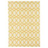 Home Loft Concept,Yellow/Ivory Indoor/Outdoor Area Rug - RRP £106.99 (160x230cm) (FLTA1024 -17633/