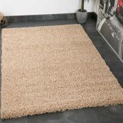 House Additions Prime Shag Beige Rug (HSU12127 - 16851/3)