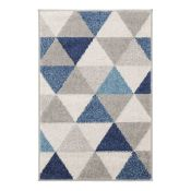 Mercury Row Valmar Grey/Blue Rug 9100x150cm)(WEWO1024 - 16851/34)