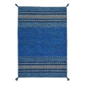 Grijalva Hand-Woven Blue Rug Rug Size: Rectangle 120 x 170cm,1 RRP£64.99(World Menagerie WLME1060.
