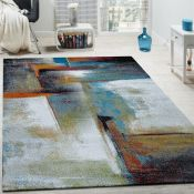 Borough Wharf Salgado Grey/Blue Rug (80x150cm) (ALAS6519 - 16851/5)