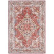Nouristan,Sylla Tufted Brick Red Rug Rug Size: Rectangle 160 x 230cm RRP£123.99(H17228 - 1/8