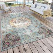 Lily Manor,Chiara Turquoise/Pink Rug - RRP £58.99 (ALAS6399 -16899/5)