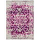 Bloomsbury Market,Fouke Purple Rug - RRP £102.99 (CCOQ2161 -16899/10)