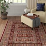 Union Rustic,Bryce Canyon Wool Red Rug - RRP £107.99 (Runner- 68x235cm) (DUST5346 -16899/18)