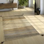 World Menagerie,Earby Handmade Kilim Cotton Beige Rug - RRP £57.99 (ALAS6620 -16899/30)