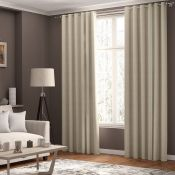 ClassicLiving, Shives Eyelet Blackout Thermal Curtains Colour: Burgundy, Size per Panel: 168 W x 183