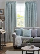 Marlow Home Co., Wiles Pencil Pleat Room Darkening Curtains (117X137CM)(DOVE GREY) - RRP £39.82 (