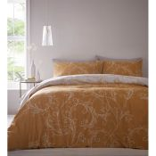 Marlow Home Co., Crutchfield Duvet Cover Set (DOUBLE)(MIDNIGHT) - RRP £20.99 (AAIF1009 - 13566/8)