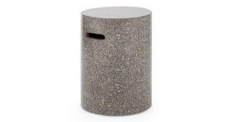   x1   Derrow Terrazzo Decorative Stool, Multi-  RRP £59   MAD-OACDER001MUL-UK   (W40-41-20) 1J