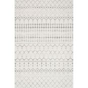Laurel Foundry,Olga Grey Area Rug RRP -£77.99 (4ftx6ft (19402/27 -LLFY1073)