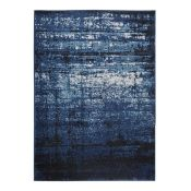 Well Woven,Sydney Vintage Distressed Crosby Blue Rug RRP -£89.99 (160x230)(12294/16 -WEWO1031)