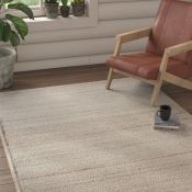Natur Pur,Natural Hand Tufted Wool Beige Mix Rug RRP -£239.99 (140x200) (19402/12 -NTRE1473)