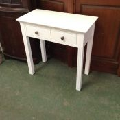 Banbury White Painted Dressing Table (F55 - -BP-DT