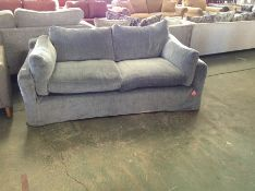 GREY LOOSE COVERED 3 SEATER SOFA HH18139432 (43)