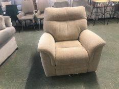 BISCUIT ELECTRIV RECLINING CHAIR (TROO2057-WOO8036