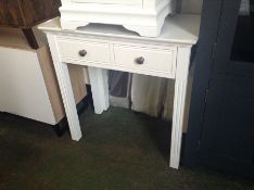 Banbury White Painted Dressing Table (DAMAGED RIGH