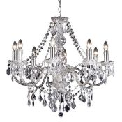 Endon Lighting, Candle Style Chandelier - RRP £115.99 (UEL1548 - 10919/24) 6B