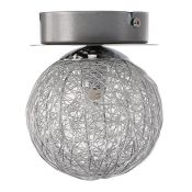 Metro Lane, Niantic 1-Light Semi Flush Mount - RRP £39.99 (U000077447 - 14819/48) 6C