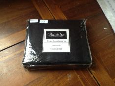 SINGLE BLACK DUVET MX11/11