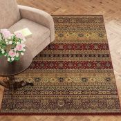 Three Posts,Haines Brown Rug RRP -£249.99 (14006/14 -TPOS1816)