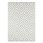 Hanse Home,Celebration Native Flatweave Grey/Cream Rug RRP -£43.99 (14006/49 -HEHM1846)