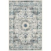 Charlton Home,Riverton Transitional Grey/Ivory Rug RRP -£223.99 (200x300cm)(11989/6 -HVOA2561)