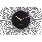 Karlsson, Peony Wall Clock (GOLD) - RRP £81.49 (OXE10038 - 20380/18) 2A